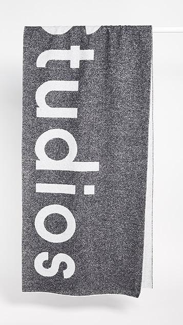 Acne Studios Toronto 徽标围巾