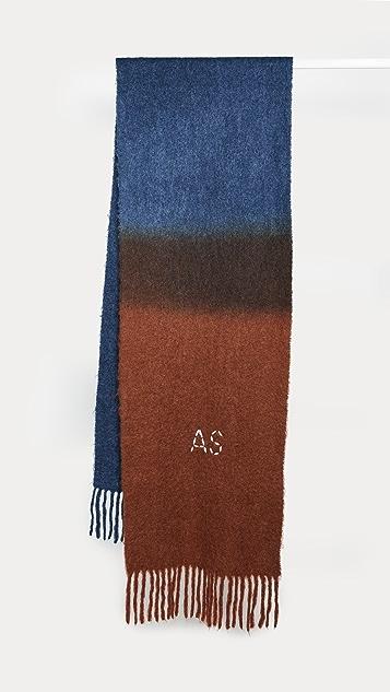 Acne Studios Kelowna Dye Scarf