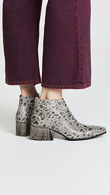 Acne Studios Lusinda Chain Booties