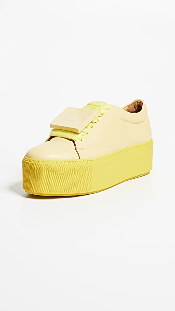Acne Studios Drihanna Platoform Sneakers
