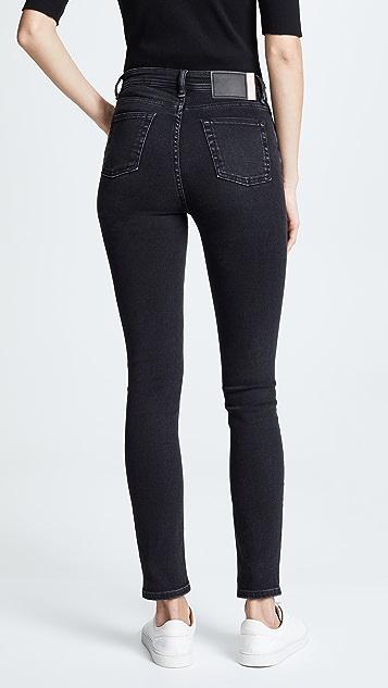 Acne Studios Зауженные джинсы
