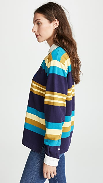Acne Studios Striped Long Sleeve Tee