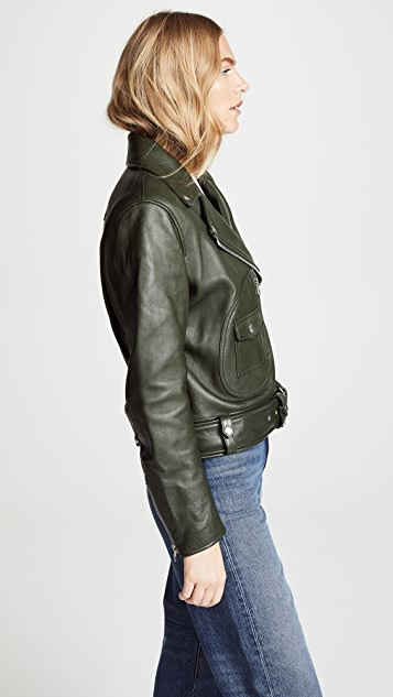 Acne Studios Classic Leather Jacket