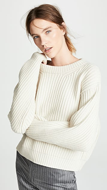 Acne Studios Boxy Crew Neck Sweater