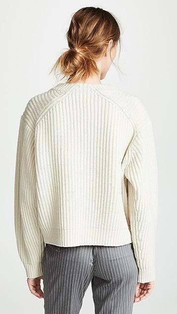 Acne Studios Boxy Crew Neck Sweater