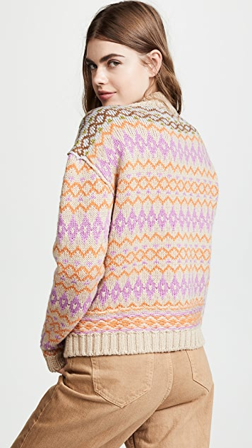 Acne Studios Fair Isle Sweater