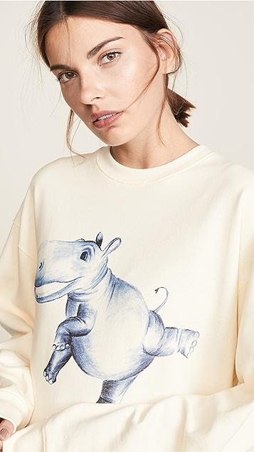 Acne Studios Graphic Print Sweatshirt