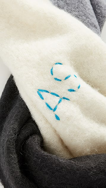Acne Studios Kelow Dye Scarf
