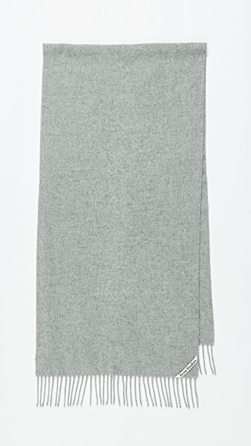 Acne Studios Узкий шарф Canada
