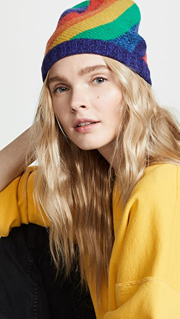 Acne Studios Rainbow Stripe Hat