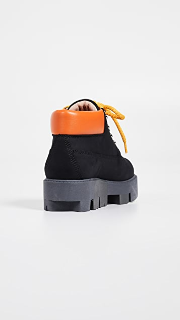 Acne Studios Tinne Contrast Hiker Boots