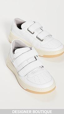 아크네 스튜디오 Acne Studios Steffey Sneakers,White