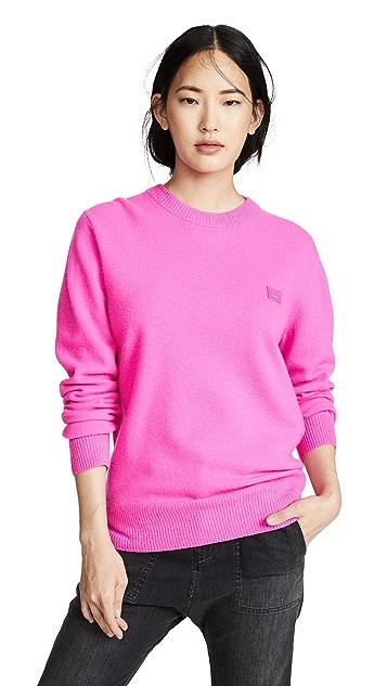 Acne Studios Nalon Face Sweater