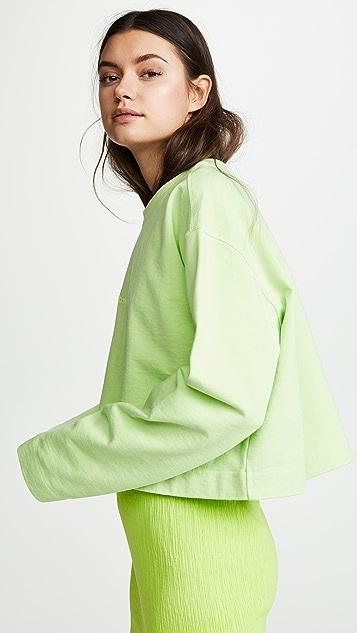 Acne Studios Odice Embossed Sweatshirt