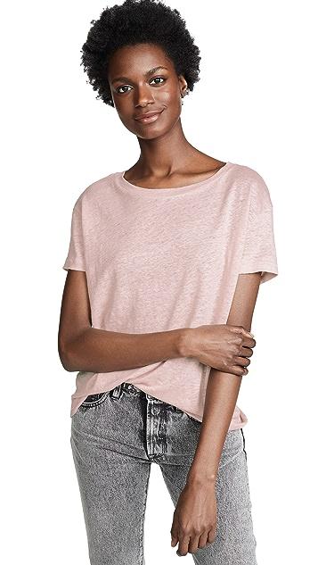 Acne Studios Льняная футболка Eldora