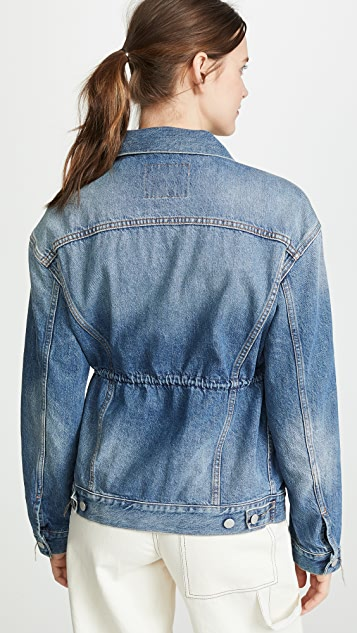 Acne Studios 2000 W Mid Blue Trash Jacket