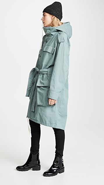 Acne Studios Oline Dyed Chino Coat