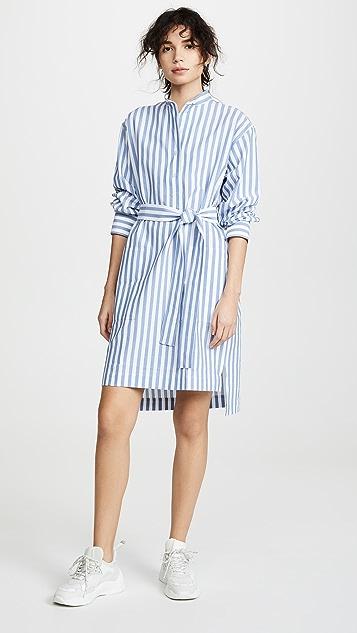 Acne Studios Derin Stripe Waffle Dress