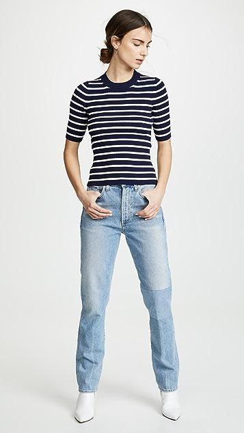Acne Studios Kassandra Short Sleeve Sweater