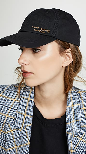 Acne Studios Carliy Dye 棒球帽