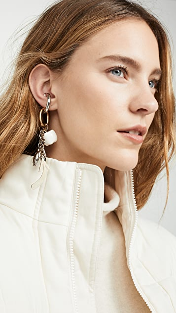 Acne Studios Agatha Single Earring