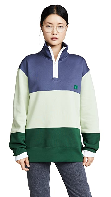 Acne Studios Flint Flag Face 运动衫