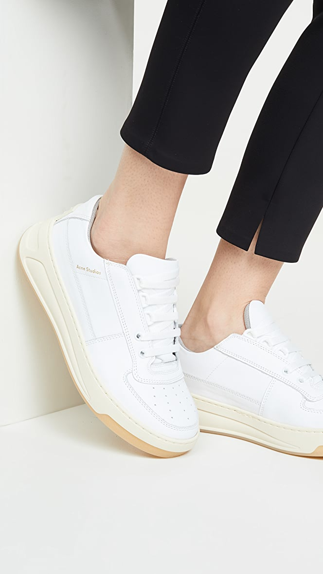 Acne Studios Steffey Lace Up Sneakers