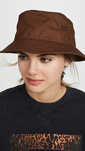Acne Studios Buk Face Co Tw Bucket Hat