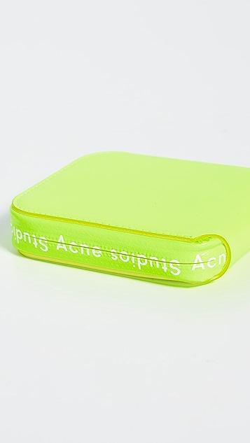 Acne Studios Флуоресцентный кошелек Kei