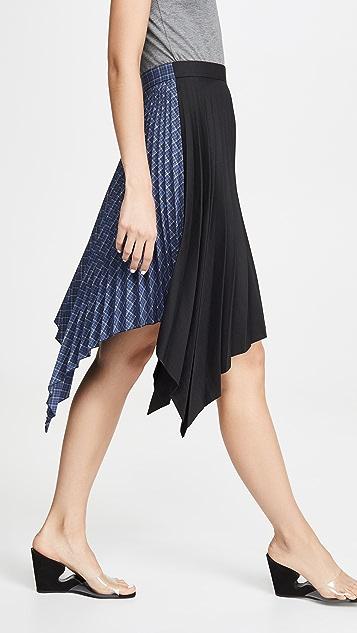 Acne Studios Ilsie Bico 西装面料半身裙