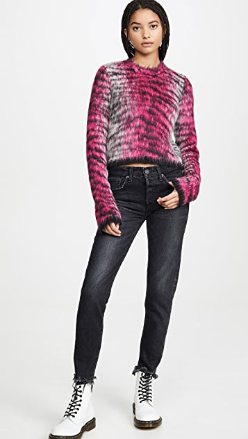 Acne Studios Khangyu Brushed Alpaca Sweater