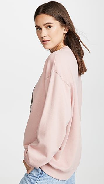 Acne Studios Forba Animal Embellished Sweatshirt