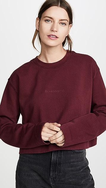 Acne Studios Odice Emboss Sweatshirt