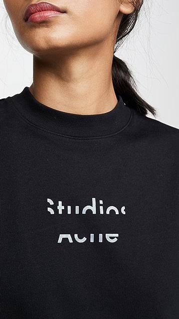 Acne Studios Elyssa Logo T-Shirt
