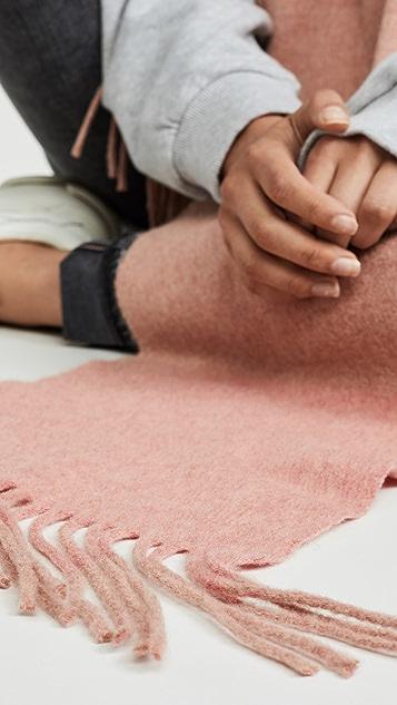 Acne Studios 加拿大窄款围巾