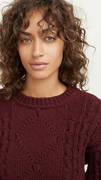 Acne Studios Katinka Reverse Cable Sweater