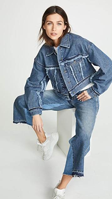 Acne Studios Oriana Denim Jacket