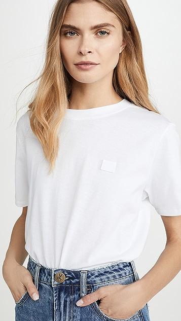 Acne Studios Ellison Face T 恤