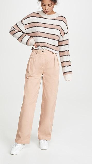 Acne Studios Pavi Cotton Twill Trousers