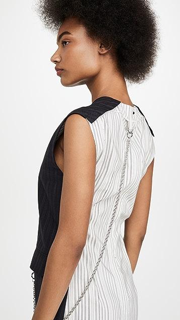 Acne Studios Doniella Pinstripe Dress