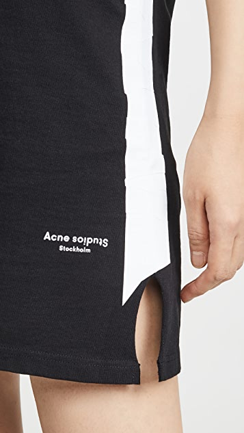 Acne Studios Платье Etriape Tape