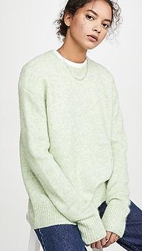 Kerna Fluffy Alpaca Pullover