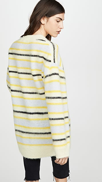 Acne Studios Karalynn 蓬松羊驼毛套头衫
