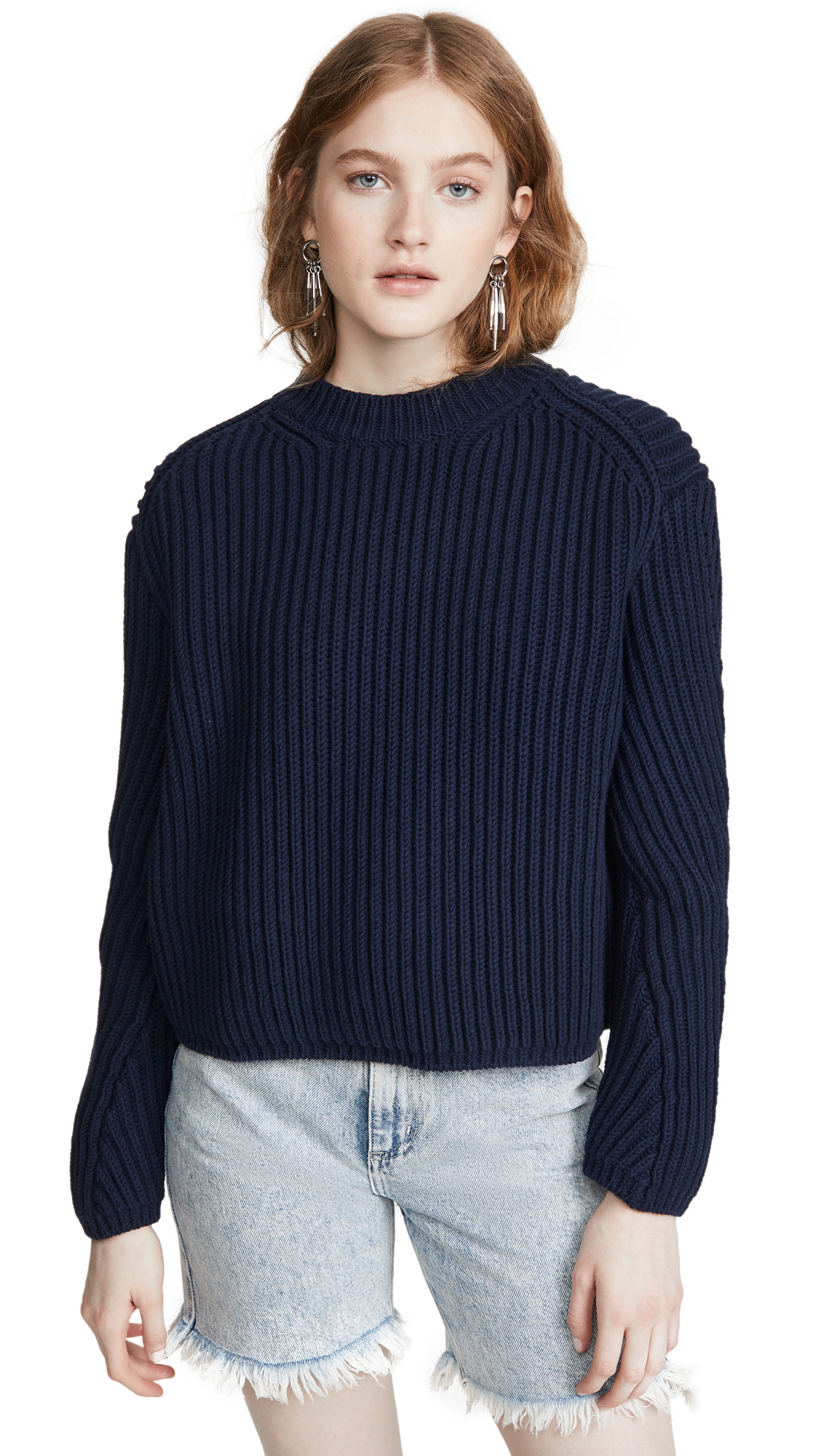 Acne Studios Khali Cotton Rib Sweater