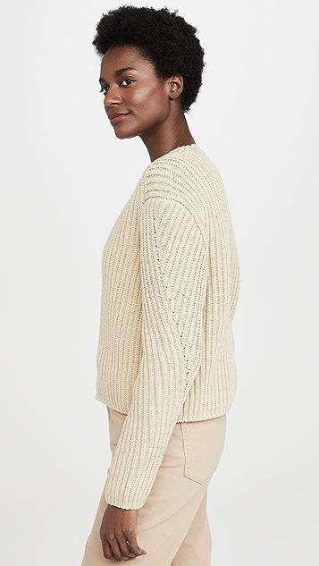 Acne Studios Khali Cotton Rib Sweater
