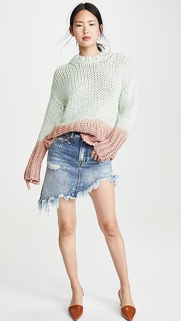 Acne Studios Kirene Dip Dye Sweater