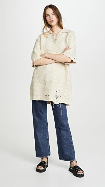 Acne Studios Kodele Chunky Shetland Sweater