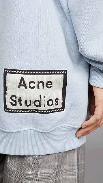 Acne Studios Fanita Reverse Label 连帽运动衫