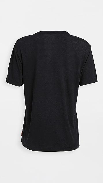 Acne Studios Edeline Pink Label T 恤