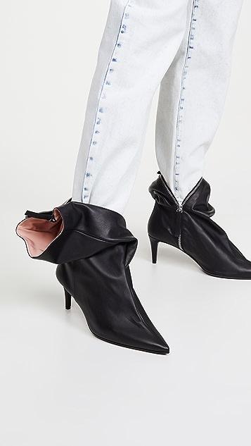 Acne Studios 皮踝靴